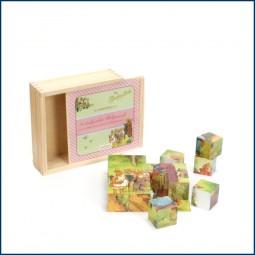Die Häschenschule 3D - Holzpuzzle