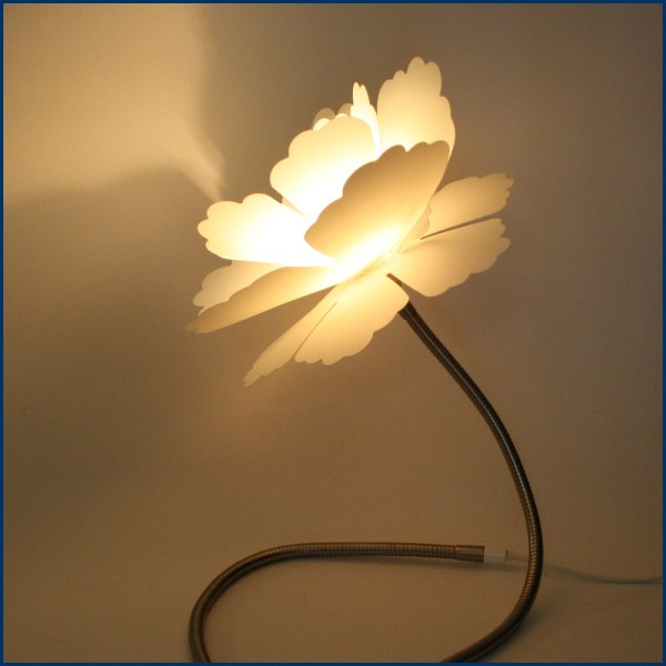 Lampe Blume  Wohnen  Haus & Hof  FeingefühlShopde