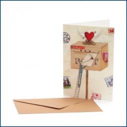 Doppelkarte 'Briefkasten'