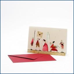 Doppelkarte 'Briefverkehr'