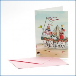 Doppelkarte 'Happy Birthday'