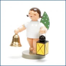 Engel mit Glocke und Laterne