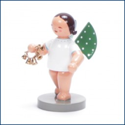 Engel mit Glockenkranz