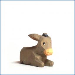 Esel, klein, liegend