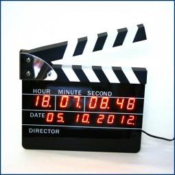 Filmklappen Wecker