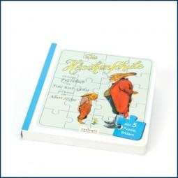 Die Häschenschule: Ein lustiges Bilderbuch, mit 5 Puzzle-Bildern