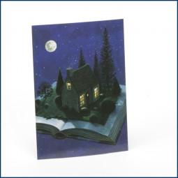 Postkarte 'Buch'