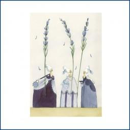 Postkarte 'Lavendel'