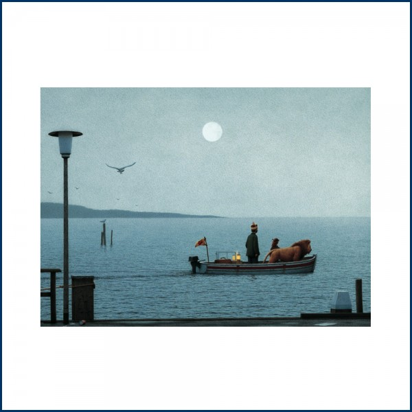 Quint Buchholz Postkarte Die Abfahrt