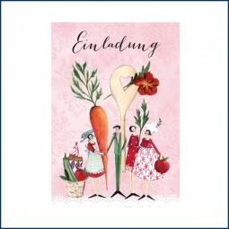 Postkarte EINLADUNG