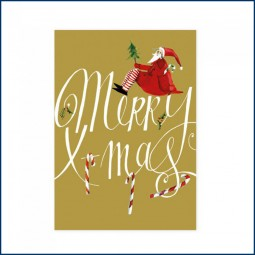 Postkarte MERRY X-MAS