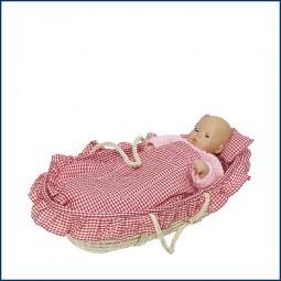 Puppen-Tragekorb