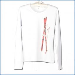 Langarm T-Shirt 'Ski'