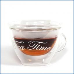 Teetasse mit Einsatz TEATIME